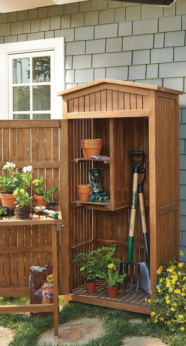 Storage Cabinet For All Your Gardening Needs
