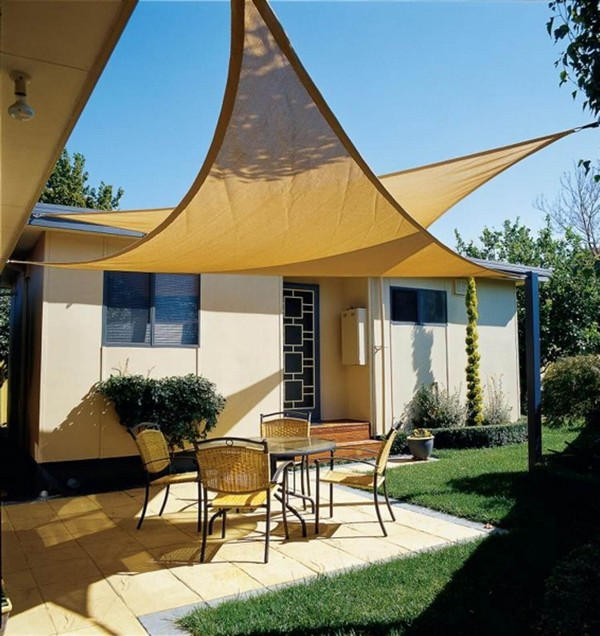 Easy On The Eye Charming And Cozy Outdoor Decorating: 16 Easy DIY Backyard Sun Shade Ideas For Your Backyard Or