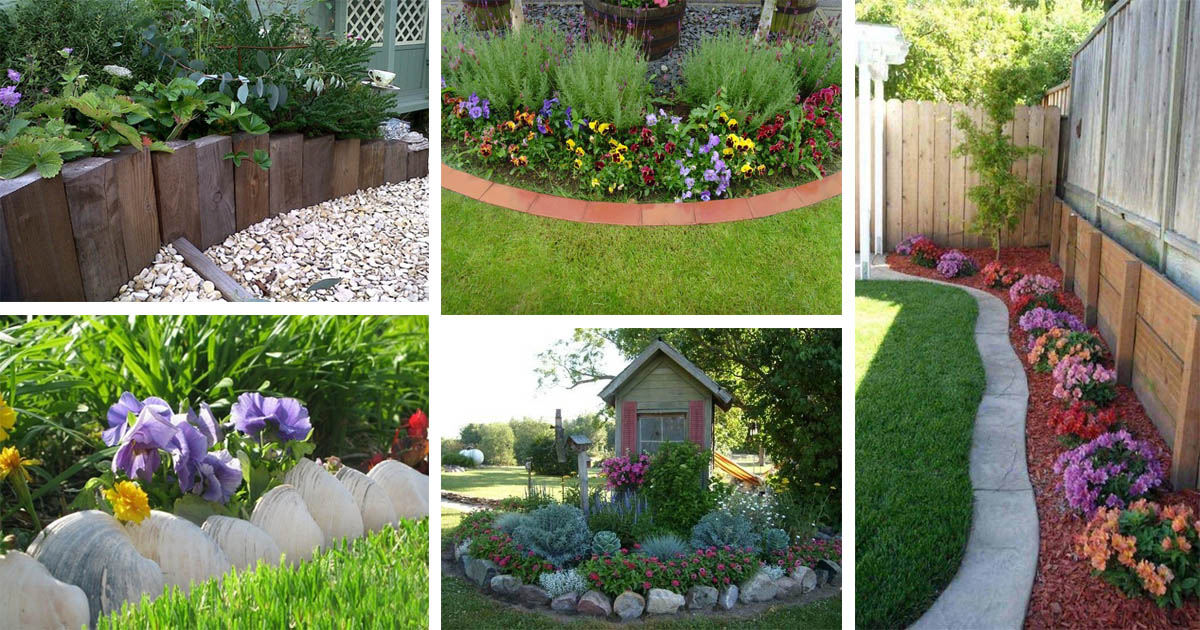 18 Amazing Garden Edging Ideas That Are Budget Friendly The Art