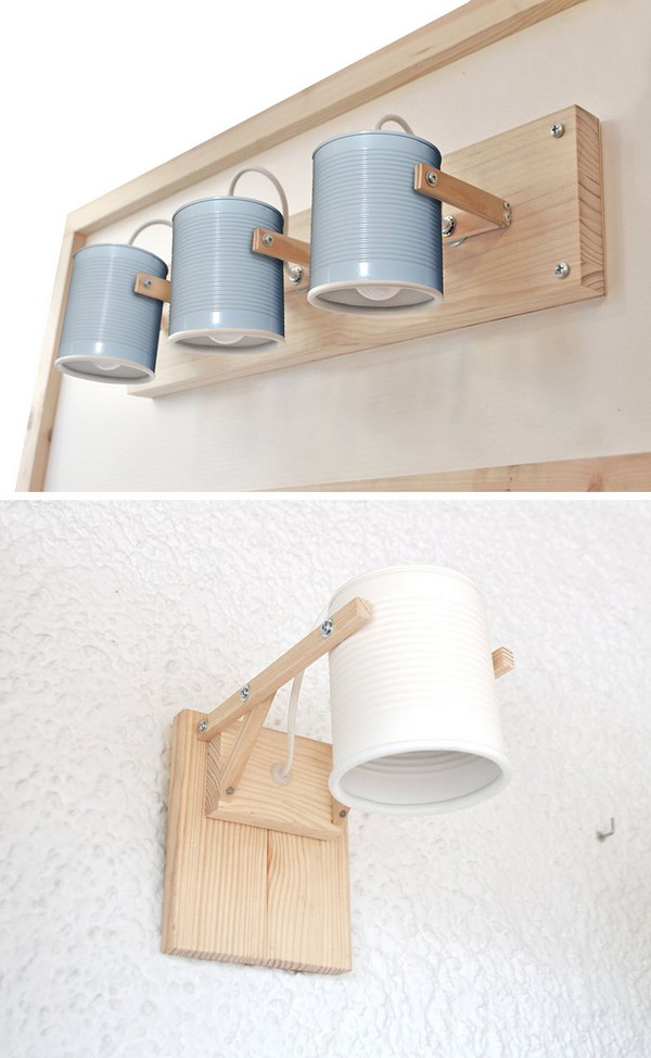 Cool And Creative Diy Wall Lamps That Will Light Up Your