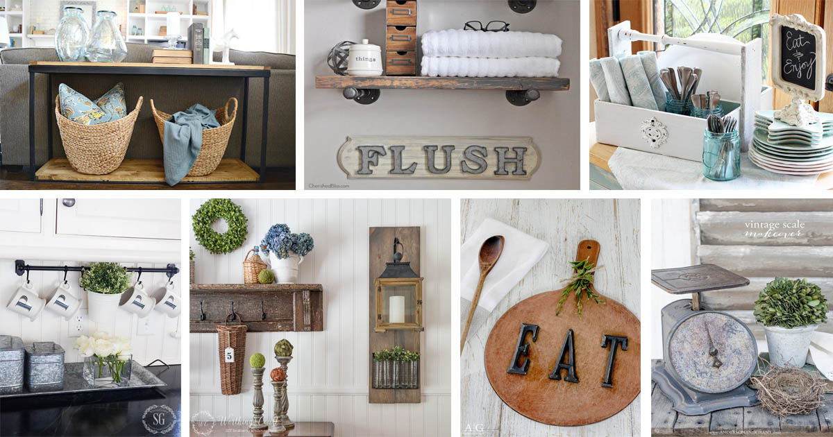 18 gorgeous farmhouse diy furniture and decor ideas for a