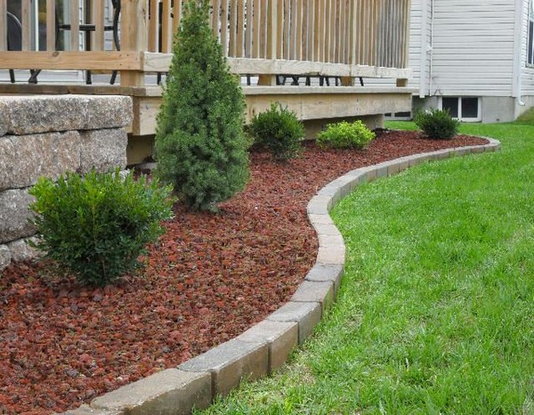 17 landscaping and yard hacks you have to see to believe for Brick edging for your flower beds