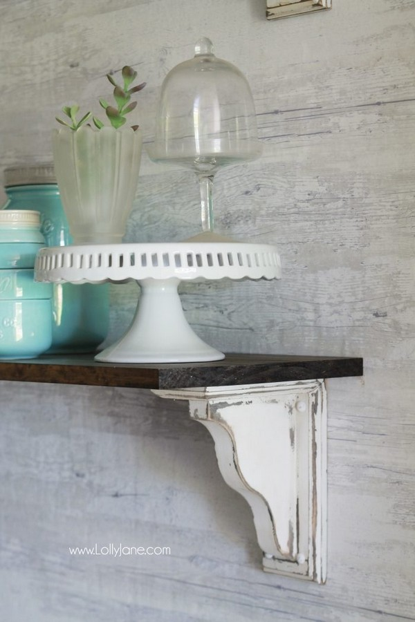 16 Easy And Creative Diy Corbels Home Decor Projects The