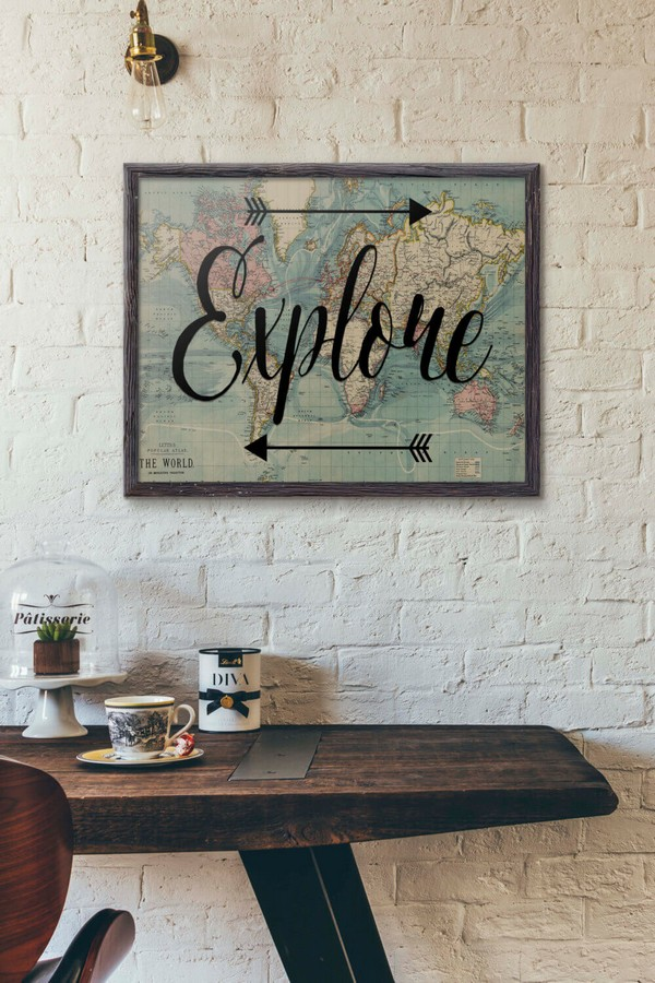 Lovely Diy Travel Inspired Home Decor Ideas To Bring A Feeling Of Wanderlust To Your Home The