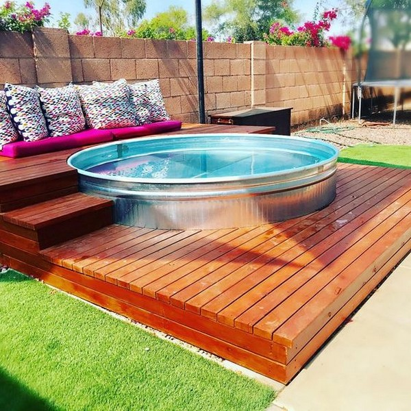 15 Cool Diy Galvanized Tubs Ideas For Your Backyard The