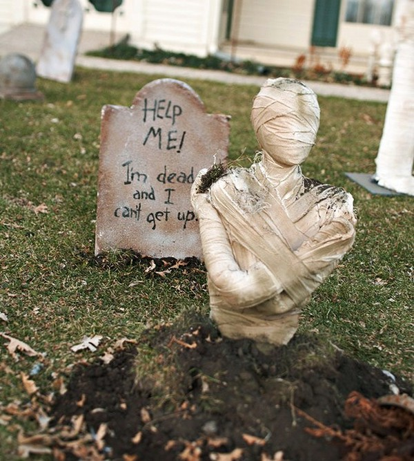 18 Ideas That Will Transform: 18 Wickedest Ways To Transform Your Outdoor For Halloween