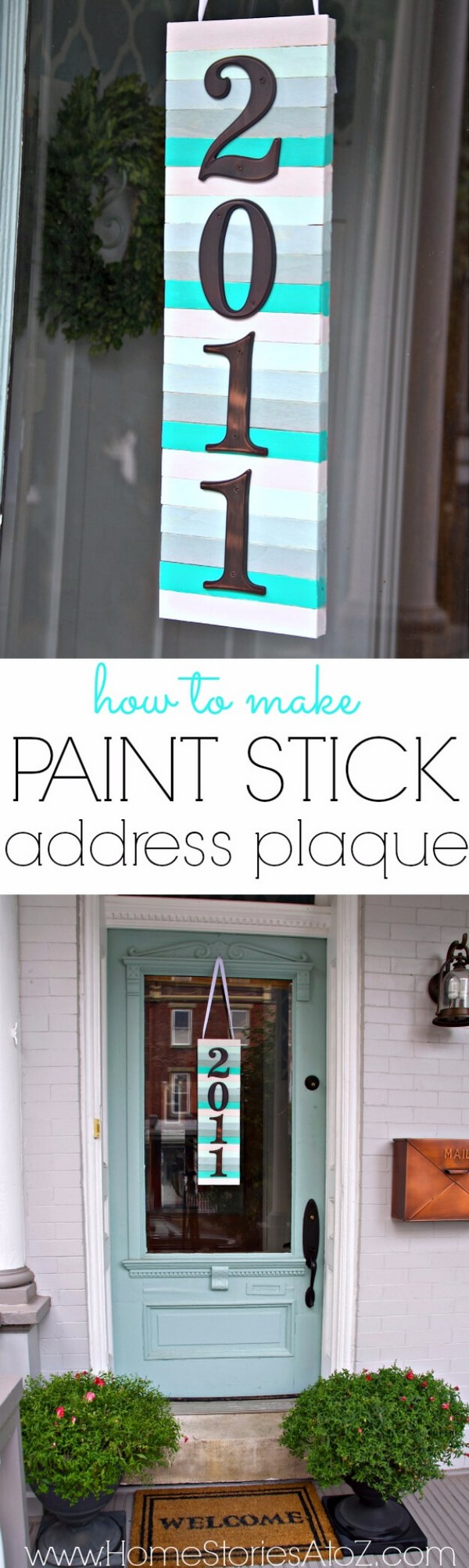 Amazing DIY House Number Ideas That Are Easy to Create ...