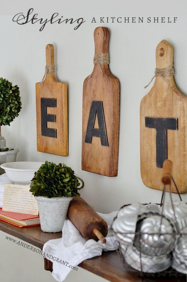 20 Gorgeous Kitchen Wall Decor Ideas To Stir Up Your Blank Walls The Art In Life
