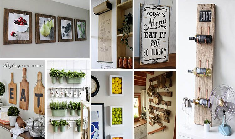 20 Gorgeous Kitchen Wall Decor Ideas To Stir Up Your Blank Walls