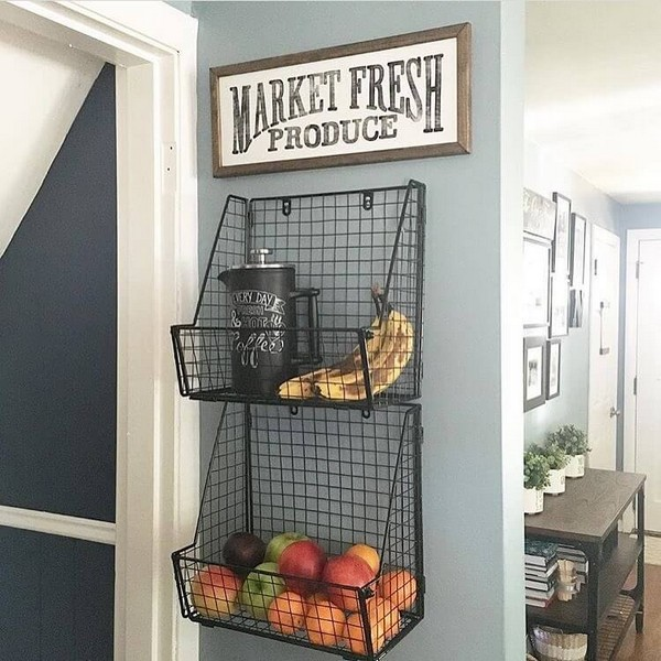 20 gorgeous kitchen wall decor ideas to stir up your blank for Kitchen wall art sets