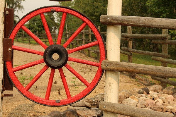16 Magnificent Ways To Use Old Wagon Wheels In Your Garden The