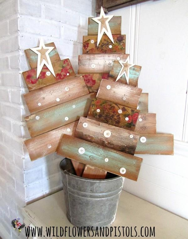 outdoor pallet christmas tree. re-purposed wood pallet christmas tree outdoor