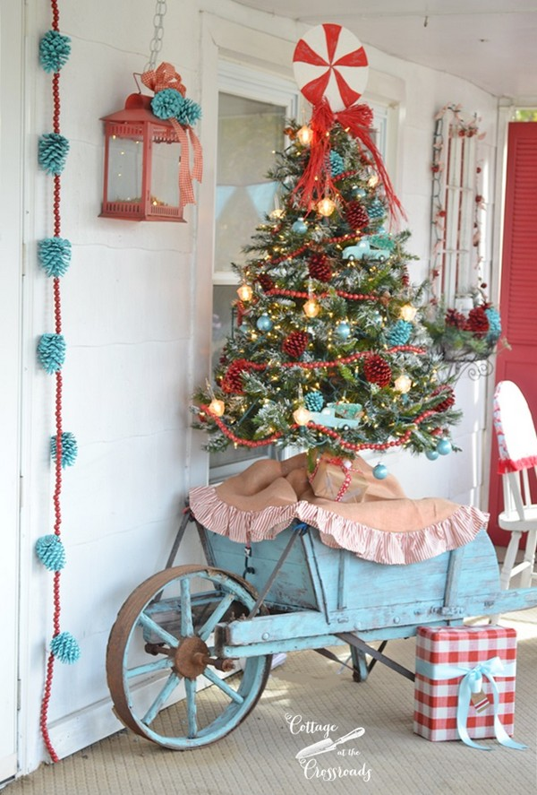 absolutely stunning outdoor christmas decoration ideas for your home