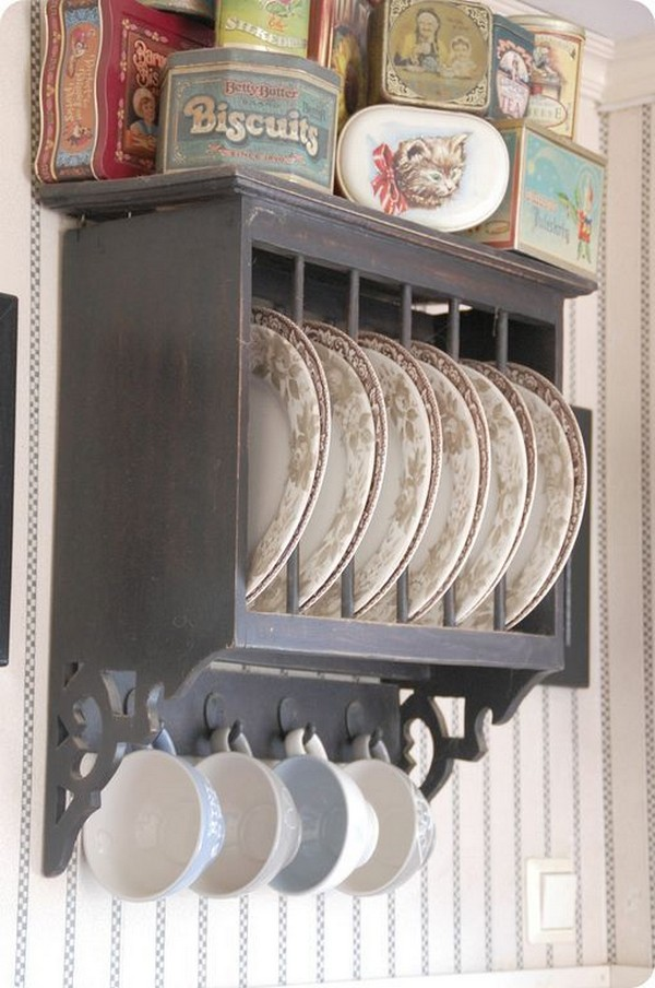 Antique Plate Rack Design Ideas For Your Vintage Kitchen The Art In Life