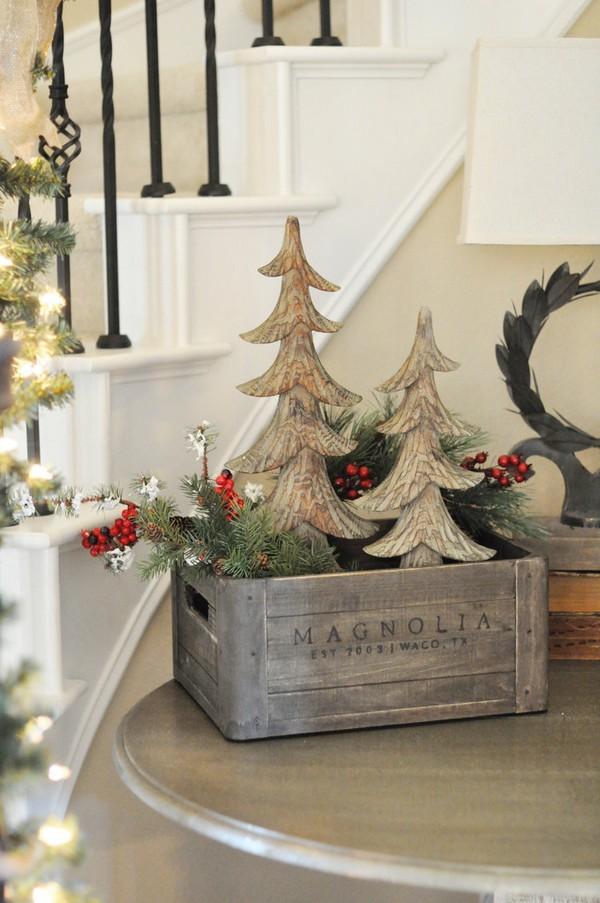 enjoy these beautiful rustic christmas decorations - Rustic Christmas Decorating Ideas