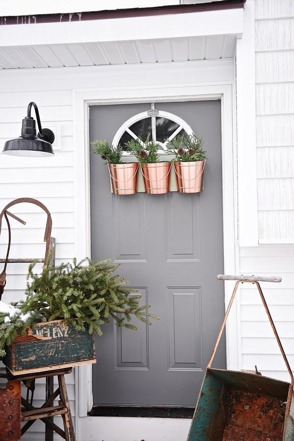 Source. Christmas Front Door