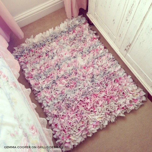 Cheap ways to spice up your interior with diy rug ideas the art in life - How to make a wool accent rug work for your space ...