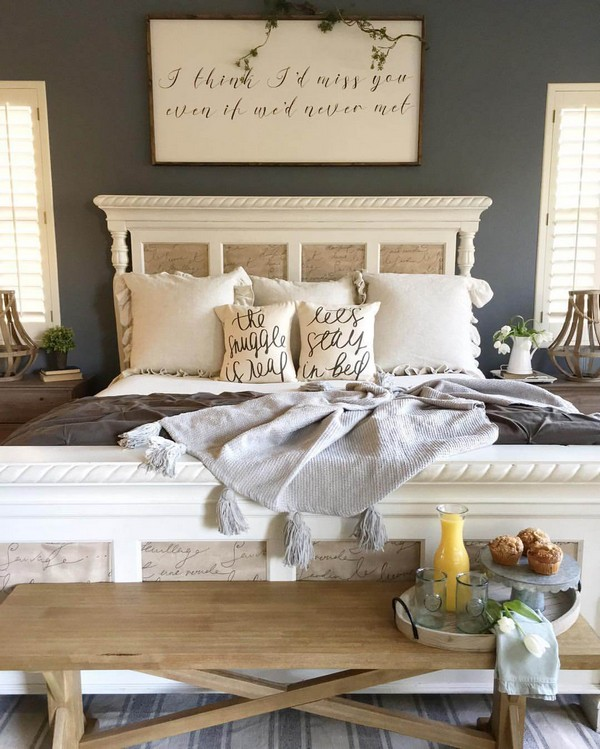 18 Rustic Farmhouse Bedroom Decor Ideas To Transform Your
