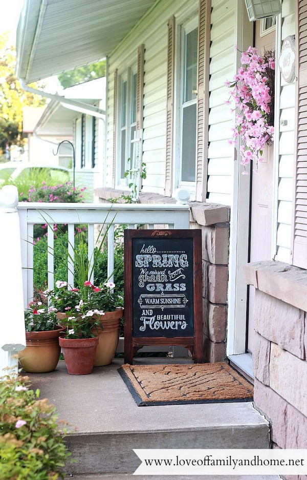 15 Best Images About Front Porch Ideas On Pinterest: Rustic Spring Porch Decor Ideas To Make Your Home Bloom