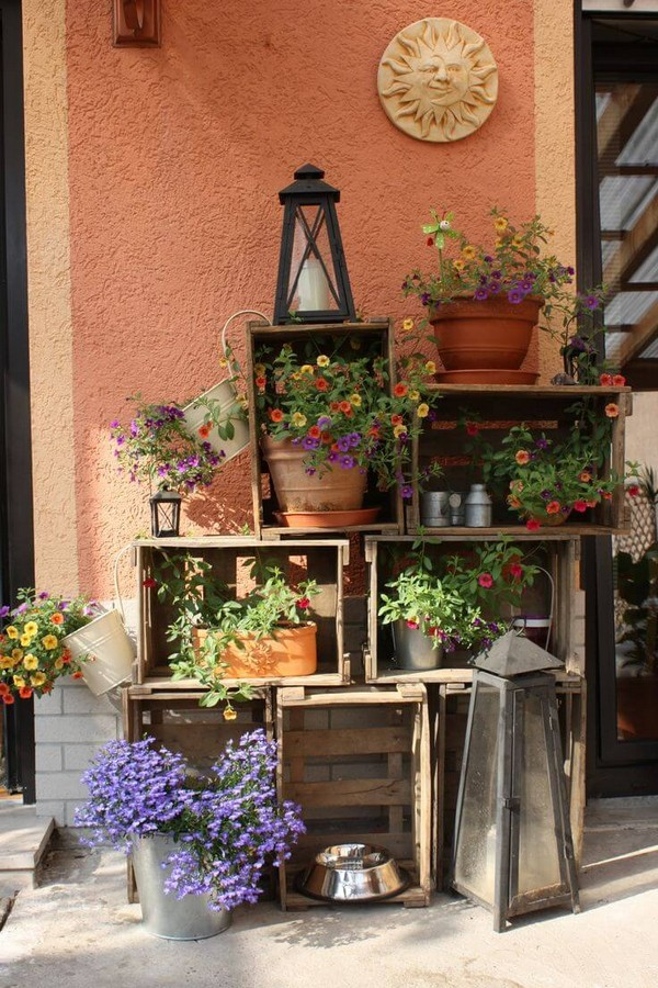 Rustic Spring Porch Decor Ideas To Make Your Home Bloom
