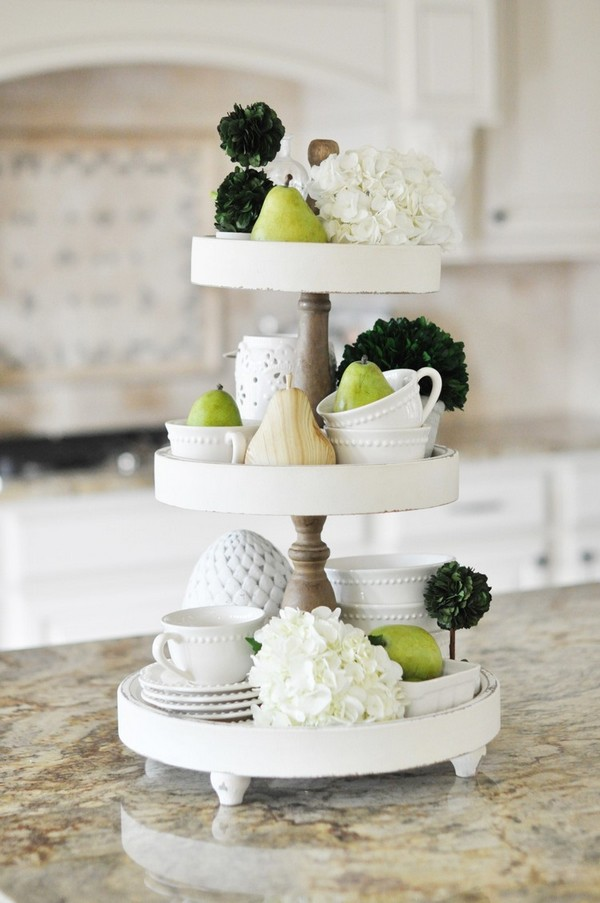 Absolutely Stunning Tiered Tray Styling Ideas That Will