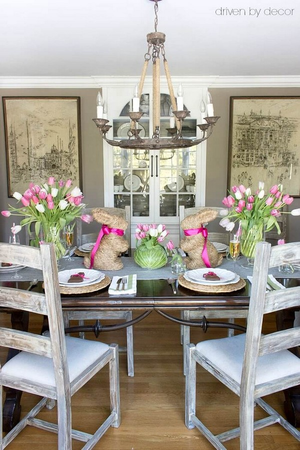 Beautiful Rustic Easter Decorating Ideas That Will Give