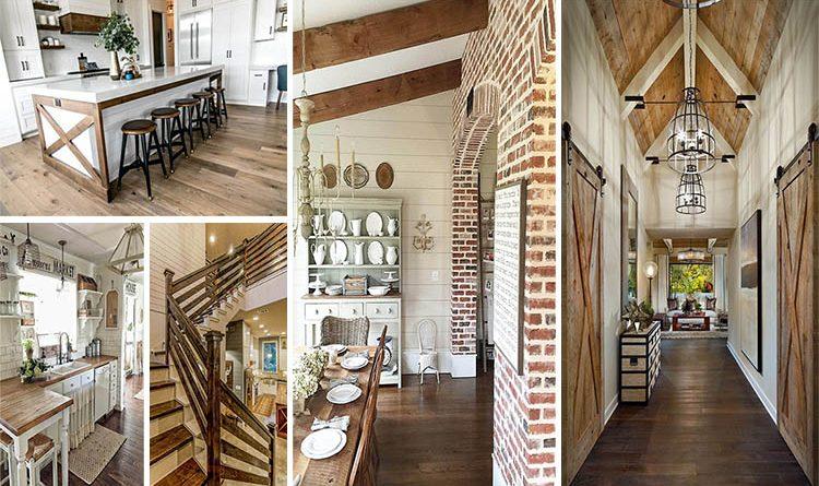 18 Rustic Farmhouse Interiors ...