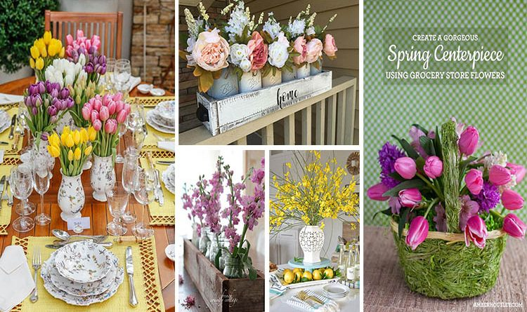 Fresh Spring Centerpiece Ideas To Give Your Table A Charming Look