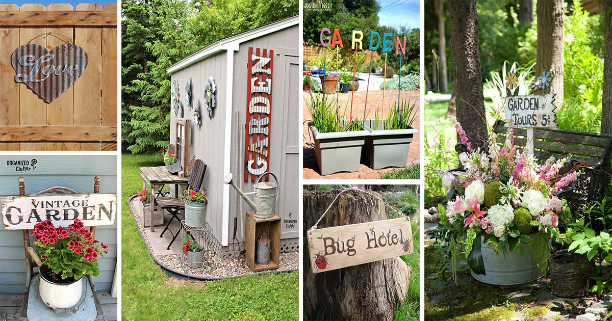 Super Funny Garden Sign Ideas To Spread Cheer Outdoors The Art