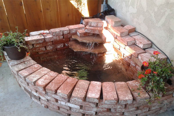 15 Wonderful DIY Ideas to Decorate Your Yard With Bricks ... on Backyard Brick Wall Ideas id=23237