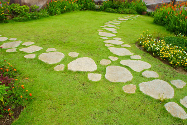Garden Path Stepping Stones 05