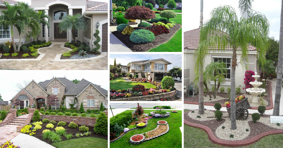 18 Wonderful And Welcoming Front Porch Landscaping Ideas The Art