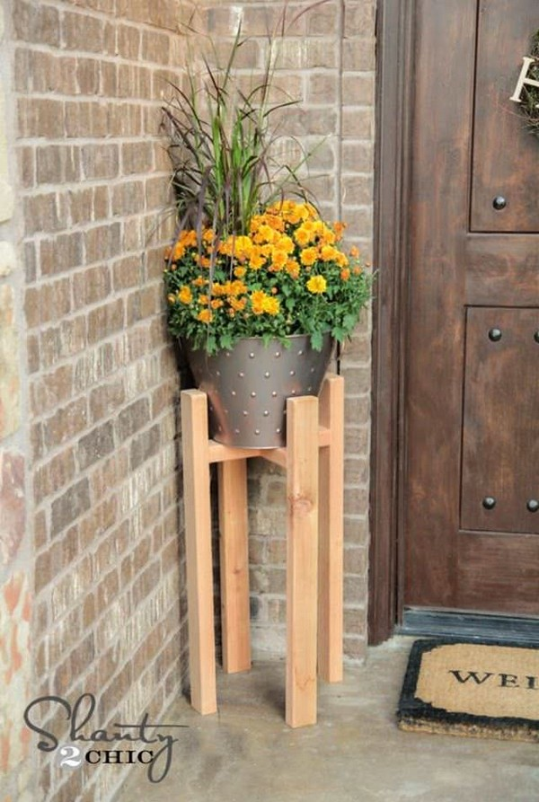 Beautiful And Most Creative DIY Plant Stand Ideas For ... on Plant Stand Ideas  id=26396