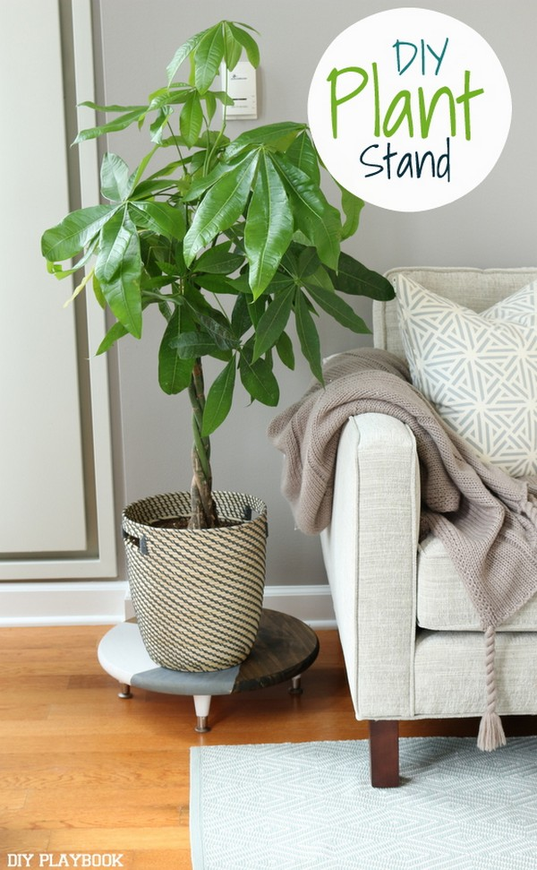 Beautiful And Most Creative DIY Plant Stand Ideas For ... on Amazing Plant Stand Ideas  id=55213