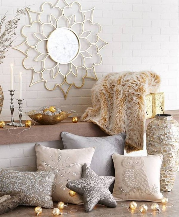 Home Decorating Ideas With Golden String Lights