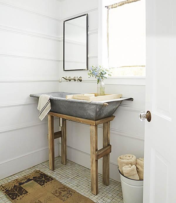 18 Beautiful Country Bathroom Design and Decor Ideas You ... on Rural Bathroom  id=88901