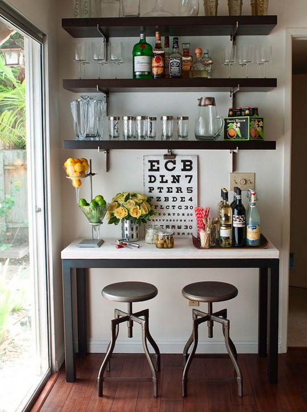 Awesome Home Bar Ideas That You Can Create Even In Small ...
