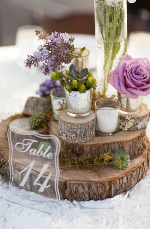 15 Gorgeous Wooden Centerpieces You Will Fall In Love With ...