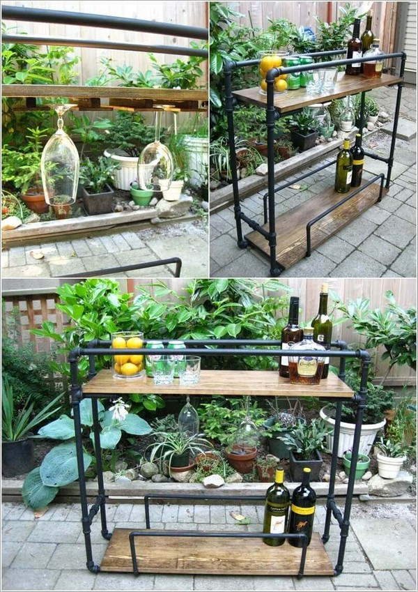 17 Awesome DIY Outdoor Bars Ideas To Prepare Your Patio ... on Backyard Patio Bar id=15171