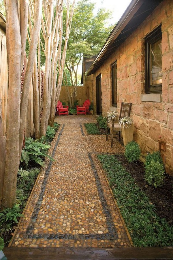 15 Absolutely Stunning Side Yard Decor Ideas You Must See ... on Narrow Yard Ideas id=21686