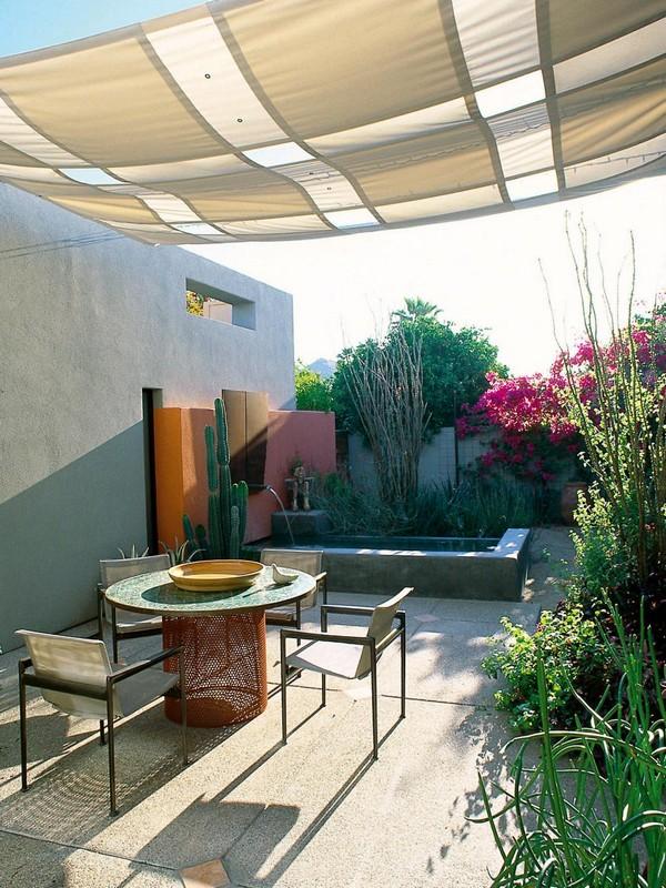 16 Easy DIY Backyard Sun Shade Ideas for your Backyard or ... on Shade Ideas For Backyard id=52043
