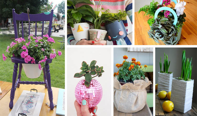 15 Unusual And Cool DIY Planter Ideas For Inspiration ...