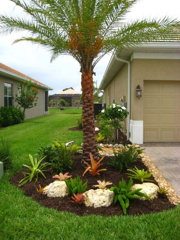 15 Amazing Ideas For Decorating The Landscape Around The ... on Palm Tree Backyard Ideas id=87050