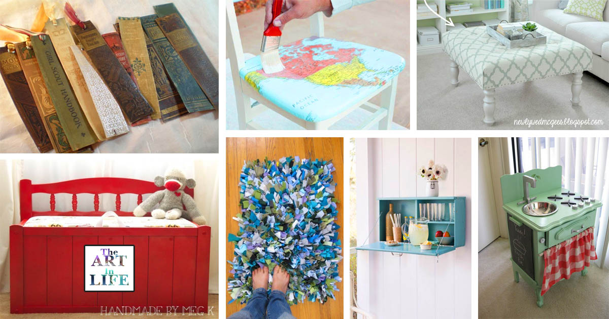 16 Genius Ways To Make Something Old New Again The Art