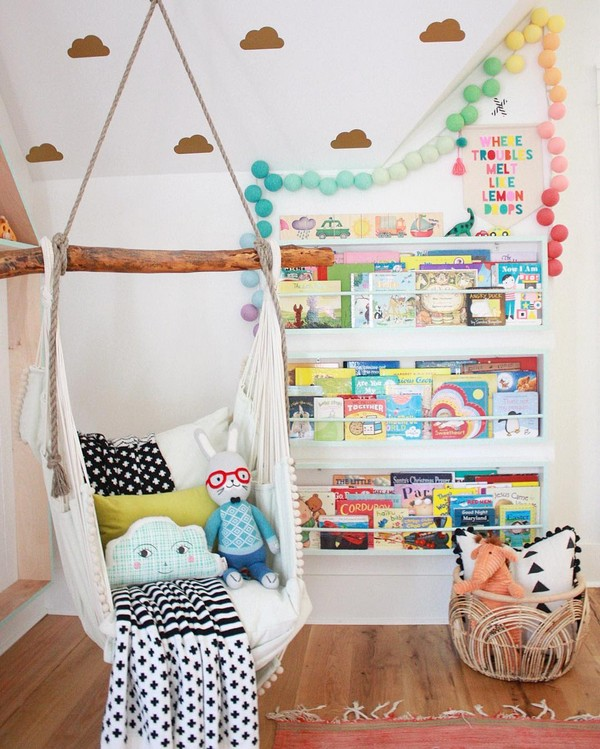 Kids Room Hammock Ideas That You Would Wish To Have The